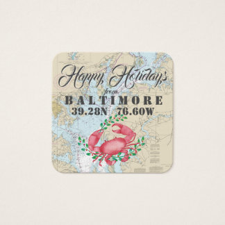 Happy Holidays from Baltimore Gift Tags