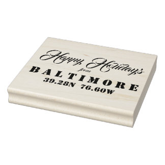 Happy Holidays from Baltimore Rubber Stamp