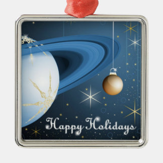 Happy Holidays From Cassini Christmas Ornament