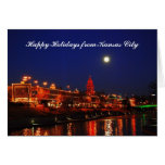 Happy Holidays from Kansas City Full Moon over Pla