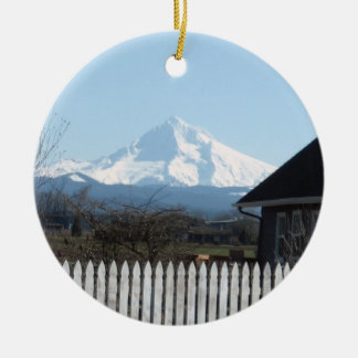 Happy Holidays from Mt. Hood Christmas Ornament