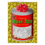 Happy Holidays From The Nut House! Greeting Card