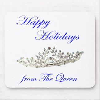 Happy Holidays from the Queen Mouse Pad