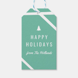 Happy Holidays Gift Tags | CHRISTMAS