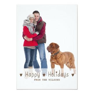 HAPPY HOLIDAYS | HOLIDAY PHOTO CARD
