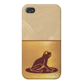 Happy Holidays Jewel Collection Case For iPhone 4