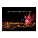 Happy Holidays Kansas City Plaza Fireworks, Lights