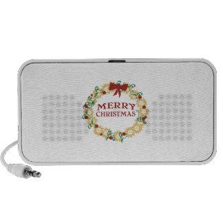 Happy Holidays Laptop Speaker