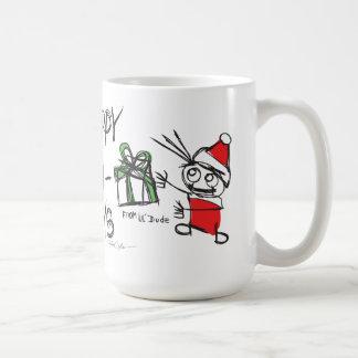 Happy Holidays lil'DudE Mugs