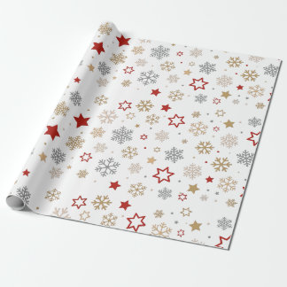 "Happy Holidays Matte Wrapping Paper, 30"" x 6' Wrapping Paper"