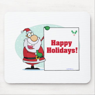 Happy Holidays Mouse Pads