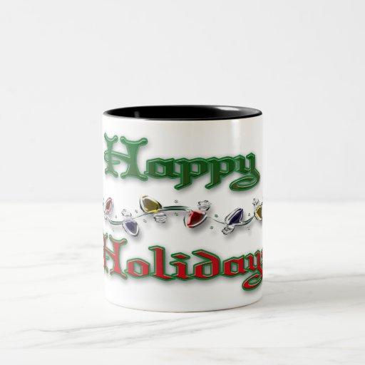 Happy Holidays Coffee Mugs