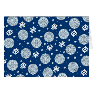 Happy Holidays - navy blue Greeting Cards