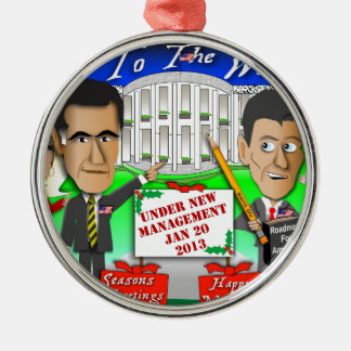 Happy Holidays New Management Christmas Ornament