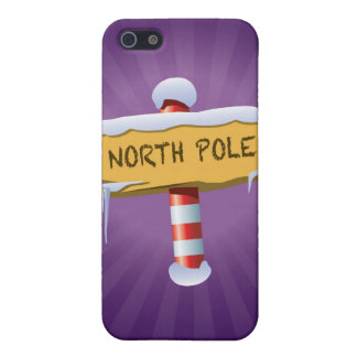 Happy Holidays North Pole iPhone 5/5S Covers