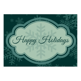 Happy Holidays Pack Of Chubby Business Cards