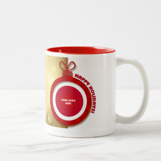 Happy Holidays. Personalized Christmas Mugs