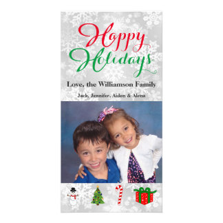 Happy Holidays Photo Card Christmas Pictures