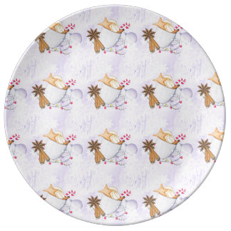 Happy Holidays Plate