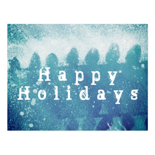 HAPPY HOLIDAYS ! POSTCARD