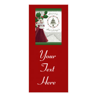 Happy Holidays Personalized Rack Card