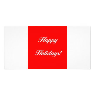 Happy_Holidays_Red Photo Cards