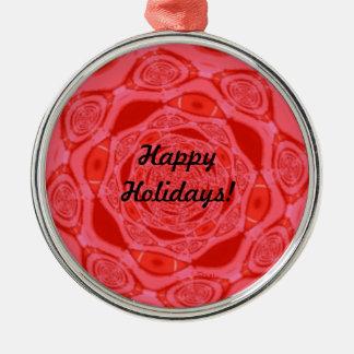 Happy Holidays Red Premium Ornament