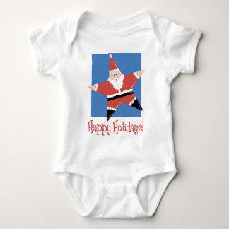 Happy Holidays Santa Star Tees and Gifts