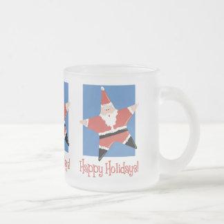 Happy Holidays Santa Star Tees and Gifts Mugs