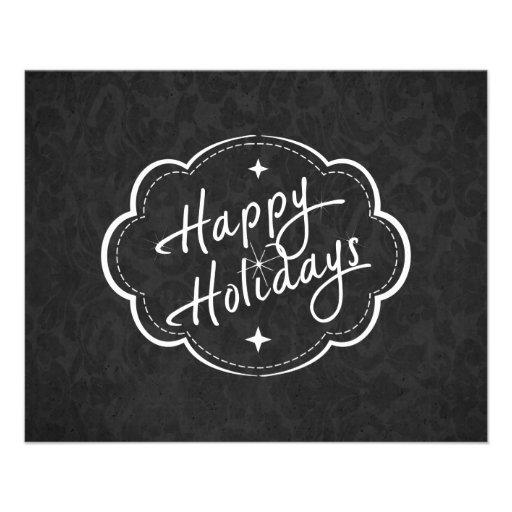 Happy Holidays Season Flyer Design