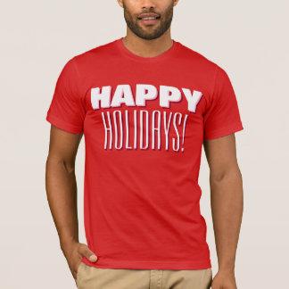"""Happy Holidays"" Seasonal Cheer T-Shirt"