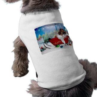 Happy Holidays Shih Tzu Dog T Shirt