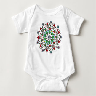 Happy Holidays Shirts: Santa Baby Onsie Baby Bodysuit