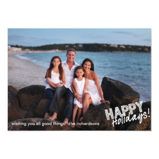 Happy Holidays Sketch Card