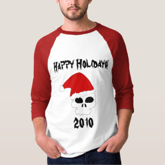 Happy Holidays Skull Shirt 2010