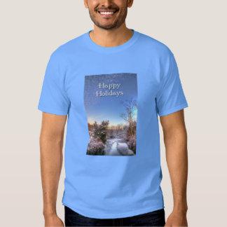 Happy Holidays Snowy Creek Tshirts
