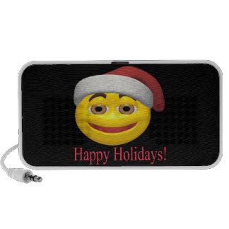 Happy Holidays iPod Speakers