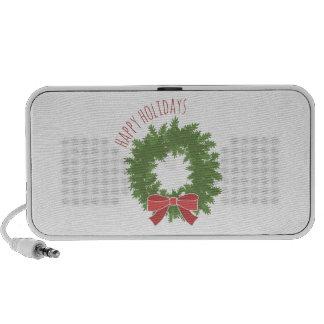Happy Holidays Portable Speakers
