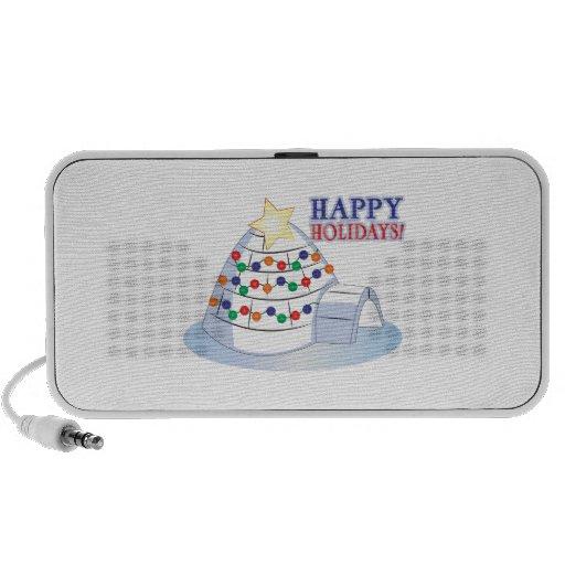 Happy Holidays iPhone Speaker