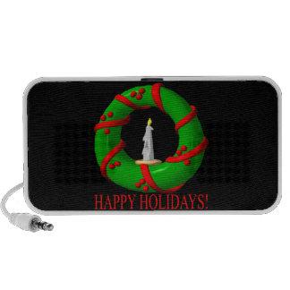 Happy Holidays Travel Speaker