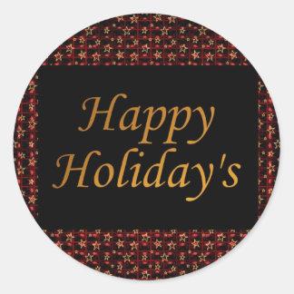Happy Holiday's Sticker