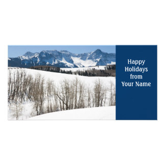 Happy Holidays Template Photo Card