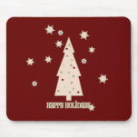 Happy Holidays Tree Mousemats
