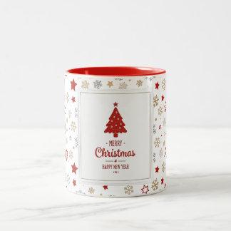 Happy Holidays Two-Tone Mug