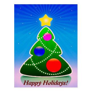 HAPPY HOLIDAYS v.3 (Christmas tree) ~ Post Cards