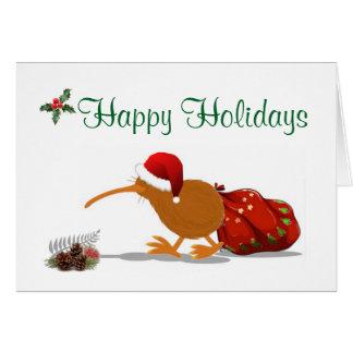 HAPPY HOLIDAYS with Kiwi Card