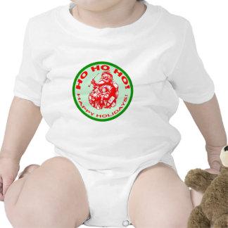 Happy Holidays with Vintage Santa Design T-shirts