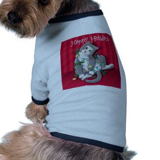 Happy Holidaze Dog T-shirt
