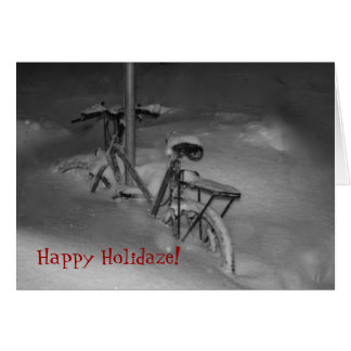 Happy Holidaze! Holiday Card