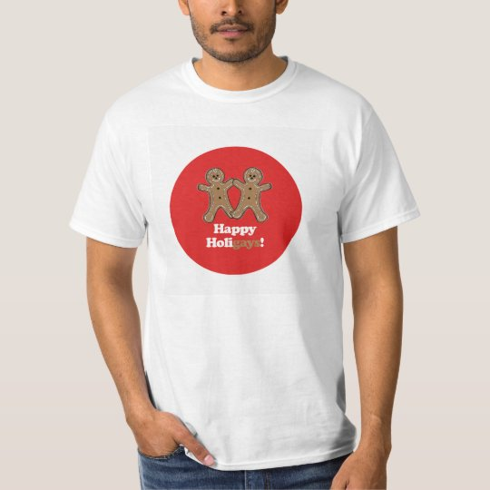 HAPPY HOLIGAYS (Gingerbread) T-Shirt